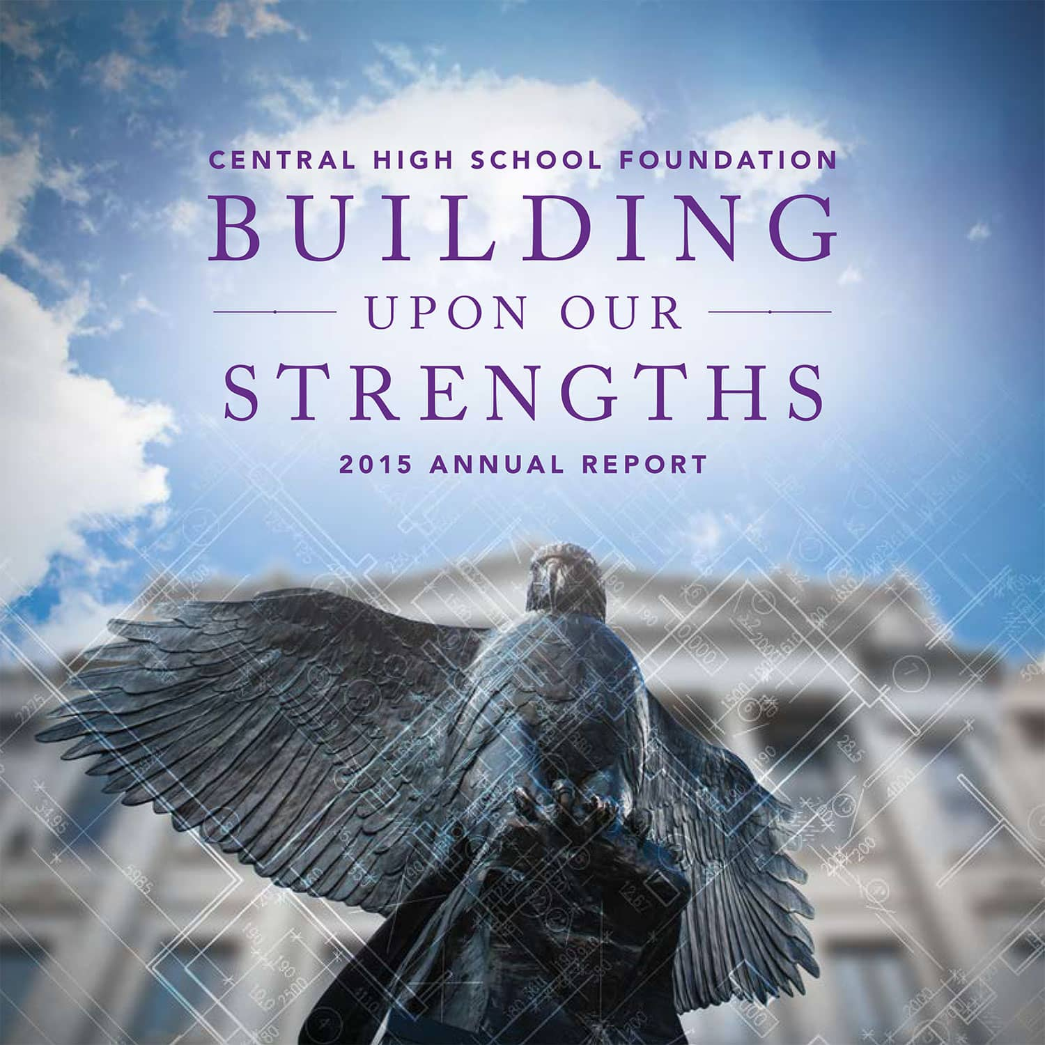 Central High School Foundation Annual Report Cover