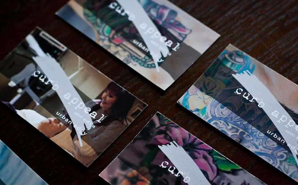 curb appeal business cards