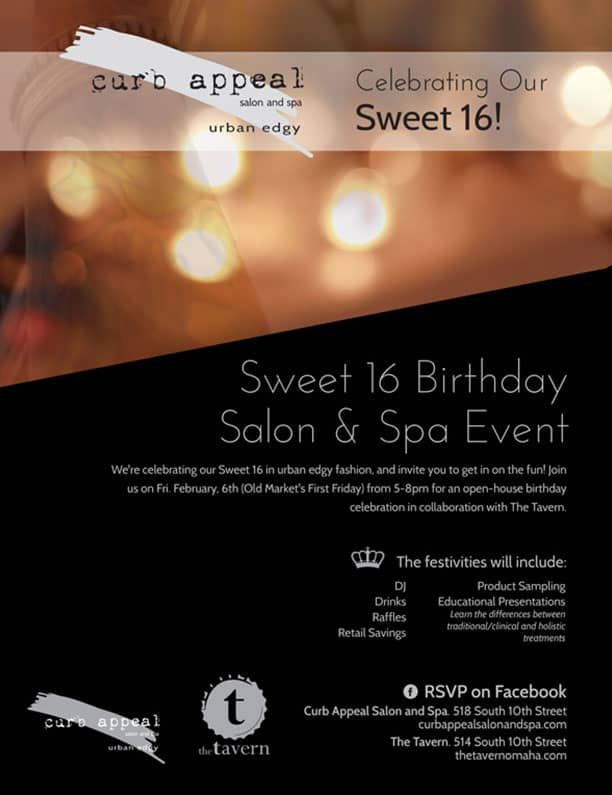 curb appeal sweet 16 poster