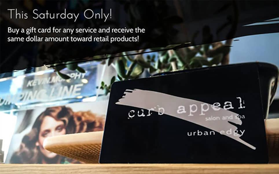 curb appeal gift card social offer