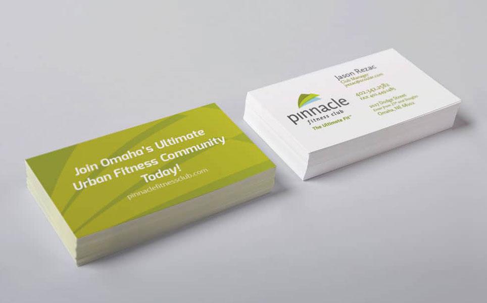 pinnacle business cards