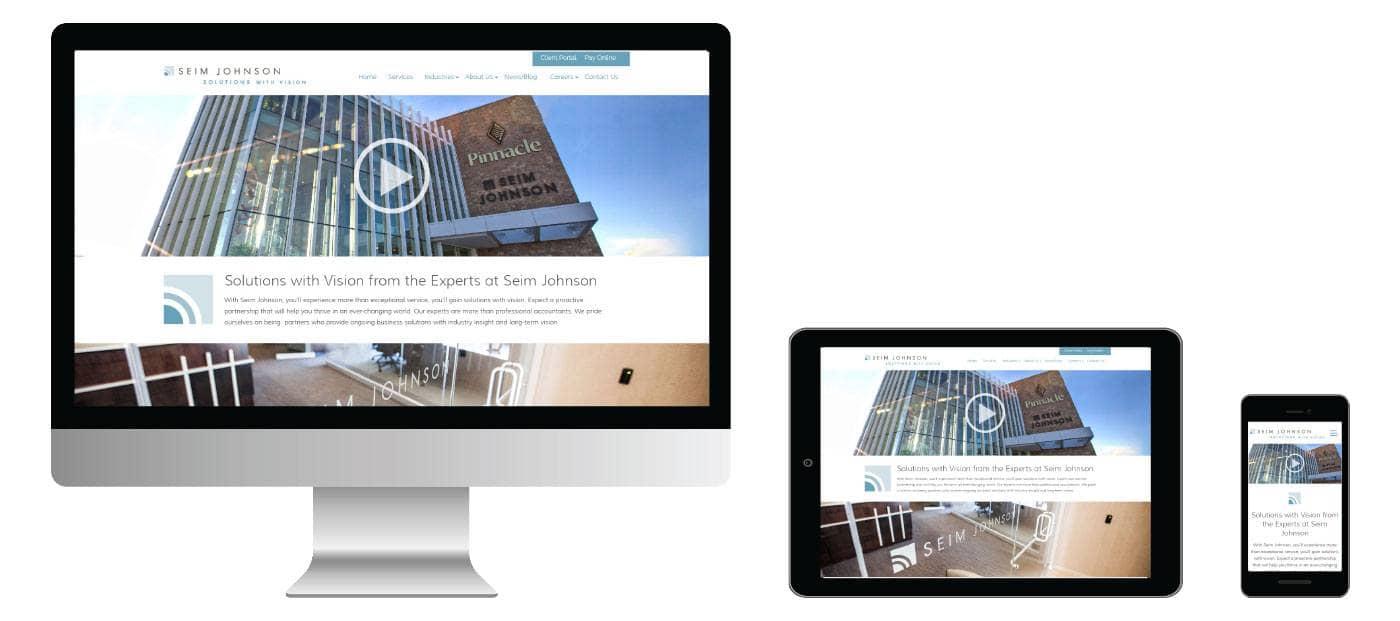 Seim Johnson website